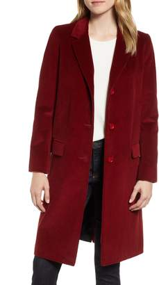 Helene Berman Corduroy College Coat
