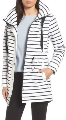 Vince Camuto Shoelace Drawstring Hooded Jacket