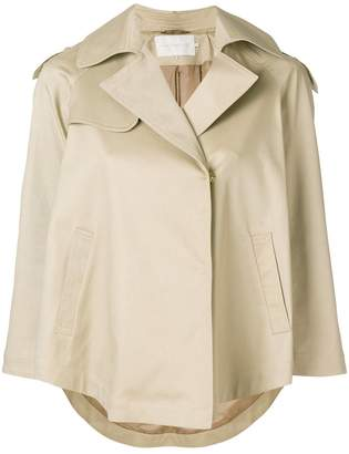 L'Autre Chose short flared trench