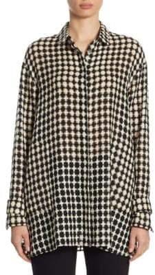 Akris Wool Button-Front Tunic
