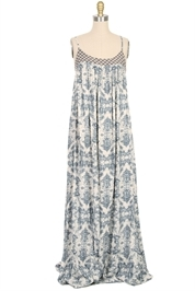 AURORA TOWN Long Print Dress