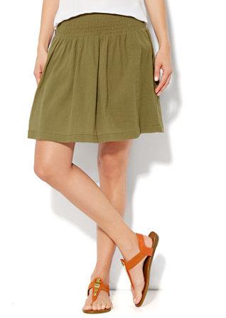 New York & Co. Gauze Mini Skirt
