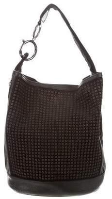 Calvin Klein Collection Grommet-Embellished Bucket Bag