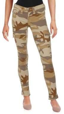True Religion Skinny Camouflage Jeans