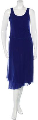 Jean Paul Gaultier Draped Sleeveless Dress w/ Tags $125 thestylecure.com