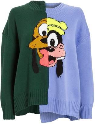 Monse Pluto and Goofy Merino Wool Sweater