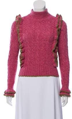 Philosophy di Lorenzo Serafini Wool Cable Knit Sweater