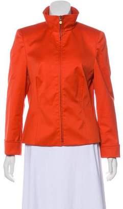 Akris Punto Structured Long Sleeve Jacket