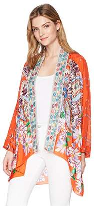 Johnny Was Women's Summer Paisley Kimono
