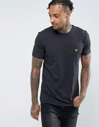 Lyle & Scott logo t-shirt in black