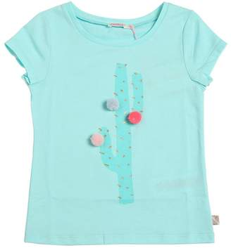 Billieblush Cactus Printed Cotton Jersey T-Shirt