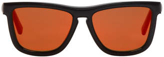 Loewe Black Square Padded Sunglasses