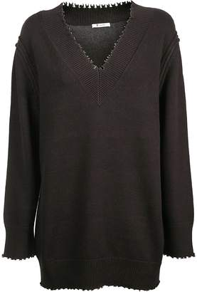 Alexander Wang Distressed Sweater
