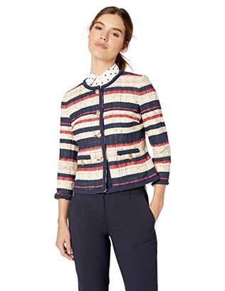 Anne Klein Women's Collarless Jacket