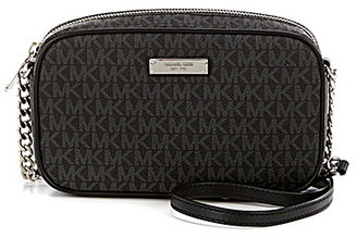 MICHAEL Michael Kors Jet Set Signature East/West Cross-Body Bag $128 thestylecure.com