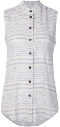 Rachel Comey faded stripe sleeveless shirt
