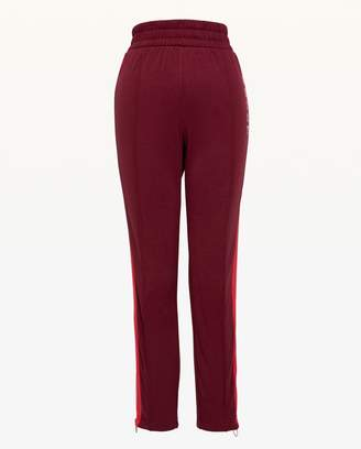 Juicy Couture JXJC Juicy Zip Side Stripe Tricot Pant