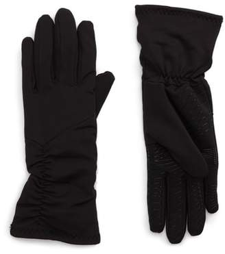 URBAN RESEARCH Ruched Stretch Tech Gloves