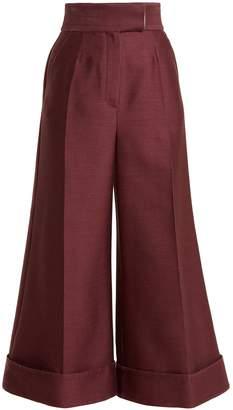 COM Roksanda Sina high-rise wide-leg trousers