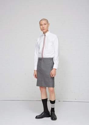 Thom Browne Knee Length Super 120s Skirt