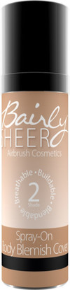 Bairly Sheer Spray-On Body Blemish Coverup $12.99 thestylecure.com