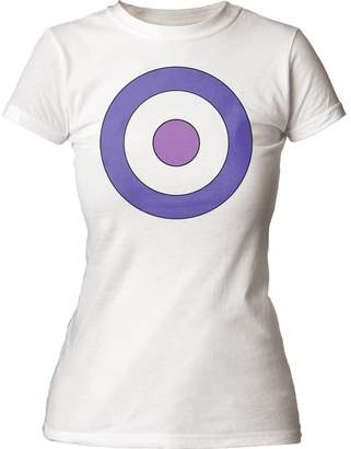 Marvel Comics Hawkeye Bullseye Juniors Crew Sweatshirt Tee