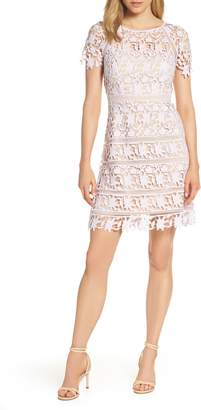 Eliza J Open Lace Dress