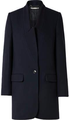 Stella McCartney Wool Coat - Navy
