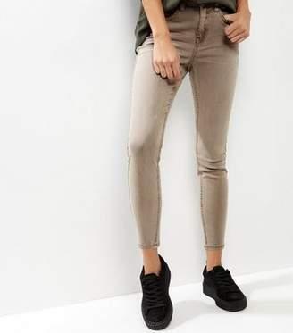 New Look Mink Washed Skinny Jenna Jeans