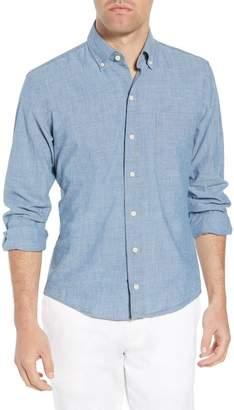 Ledbury Ancroft Slim Fit Chambray Sport Shirt