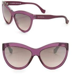 Balenciaga 60MM Cat Eye Sunglasses