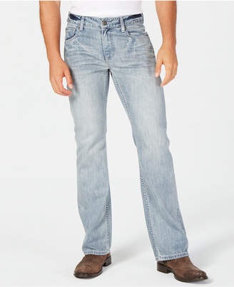INC International Concepts I.n.c. Men's Bootcut Stretch Jeans, Created for Macy's
