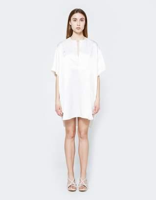 Georgia Alice Satin Coconut Shirt Dress