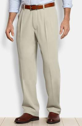 Tommy Bahama 'New St. Thomas' Flat Front Silk & Cotton Pants