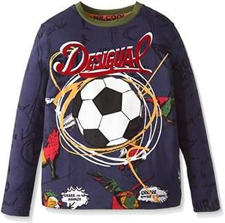 Desigual (デジグアル) - (デシグアル) Desigual 長袖Tシャツ 67T36C4 5040 マルチカラー 3/4(100cm(104cm 3/4才))