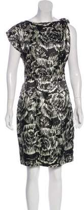 Clements Ribeiro Printed Knee-Length Dress