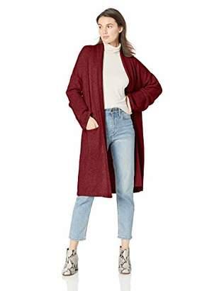 Michael Stars Women's Cozy Knits Shawl Collar Sweater Coat