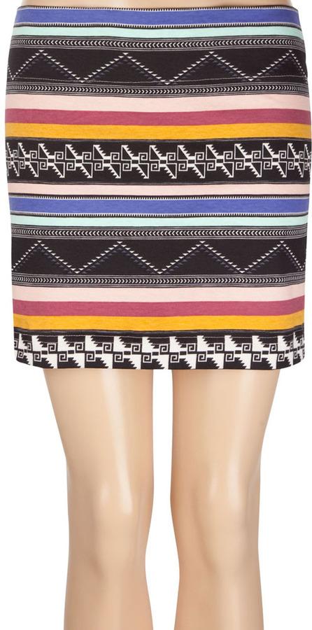 Billabong Cloud Coverage Bodycon Skirt