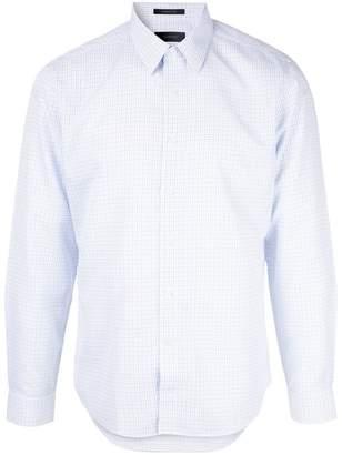 Durban D'urban grid pattern shirt