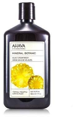 Ahava NEW Mineral Botanic Velvet Cream Wash - Tropical Pineapple & White Peach