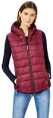 Puffa HIKARO Women's Gilet with Hood,(Manufacturer Size: Small)