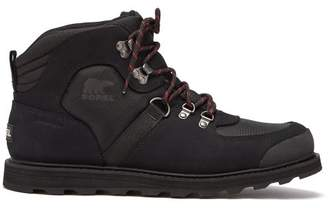 Sorel Madson Sport Mesh And Leather Hiking Boots - Mens - Black