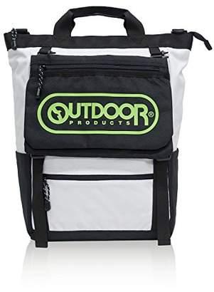 Outdoor Products (アウトドア プロダクツ) - [アウトドアプロダクツ] リュック サコッシュ付 A4収納 PC収納 大容量 21リットル 22419775 ホワイト(ロゴプリント)