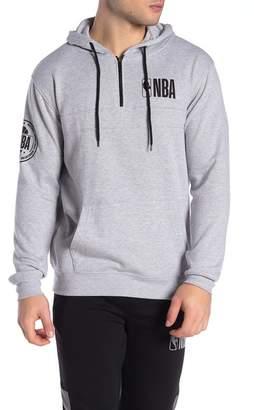 UNK NBA NBA Brand Quarter Zip Hoodie