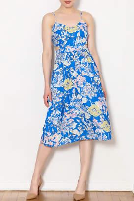 Sam&lavi Sam & Lavi Blue Floral Dress