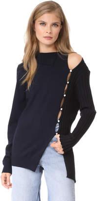 Jacquemus Split Sweater $520 thestylecure.com