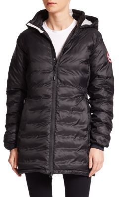 Canada Goose Down Camp Jacket $575 thestylecure.com