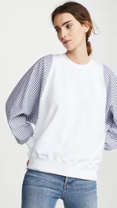 Clu Striped Dolman Sleeve Pullover