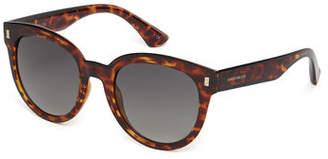 Karen Millen Deep Round Sunglasses
