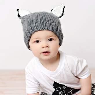 BLUEBERRY HILL - Lanham Wolf Knit Hat